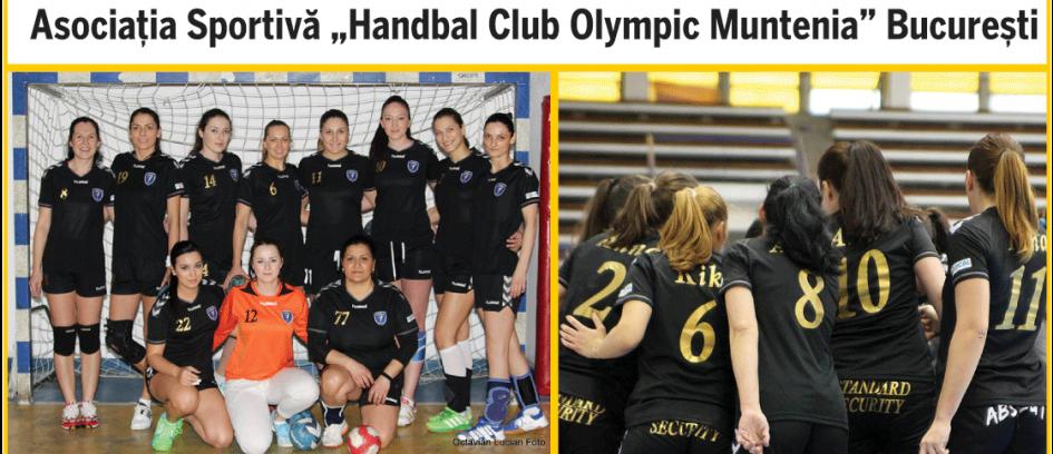 """Asociația Sportivă """"Handbal Club Olympic Muntenia"""" București"""