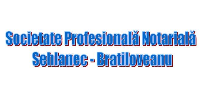 Societate Profesională Notarială Sehlanec - Bratiloveanu