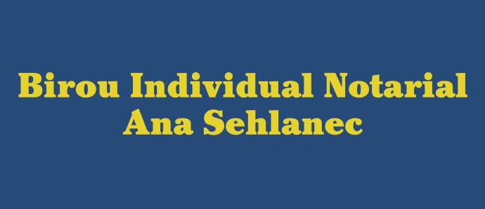 Birou Individual Notarial Sehlanec Ana