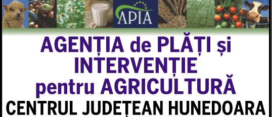 AGENȚIA DE PLĂȚI ȘI INTERVENȚIE PENTRU AGRICULTURĂ