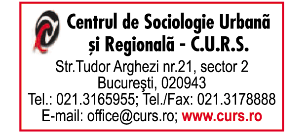 Centrul de Sociologie Urbană şi Regională - Curs S.R.L.