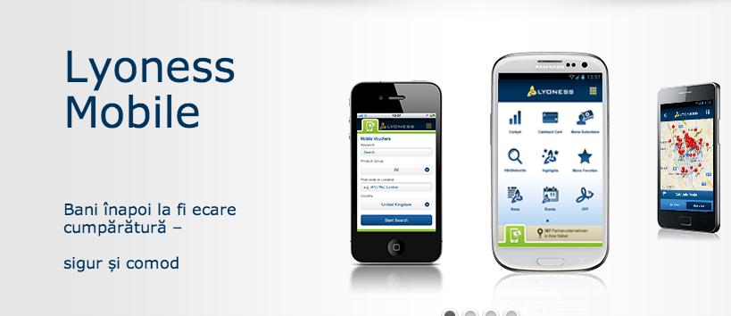 Lyoness Mobile - cumpara inteligent cu bonuri valorice mobile!