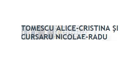 Tomescu Alice Cristina si Cursaru Nicolae Radu S.P.N.