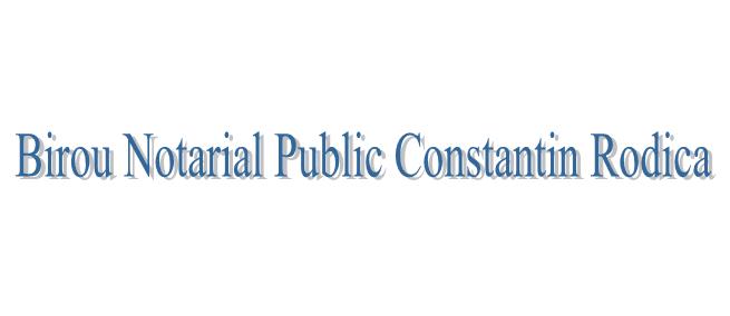 Birou Notarial Public Constantin Rodica