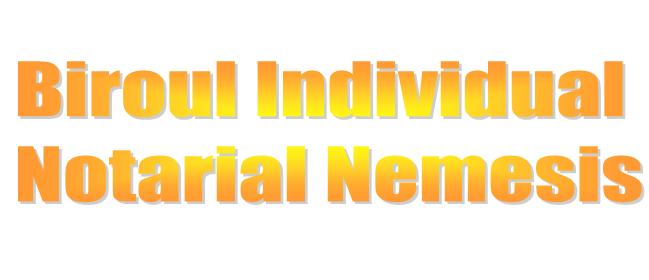 Biroul Individual Notarial Nemesis