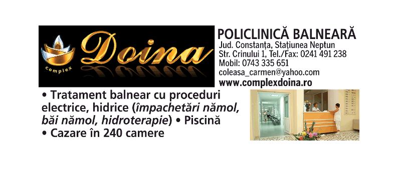 Policlinica Balneara Complex Doina