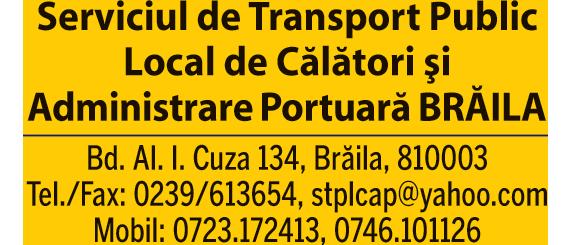 Serviciul de Transport Public Local de Călători si Administrare Portuară